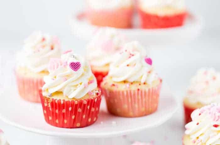 Vanilla Bean Buttermilk Cupcakes
