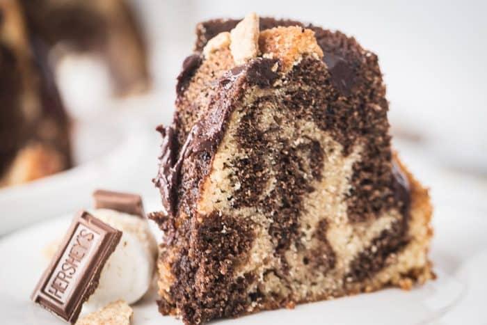 smores bundt cake