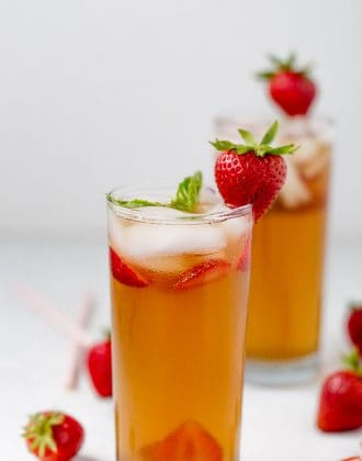 Strawberry Basil Iced Tea