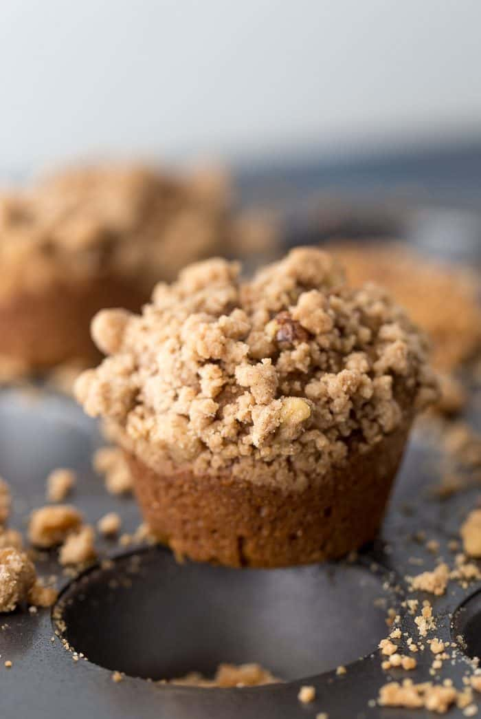 Browned Butter Pumpkin Spice Muffins