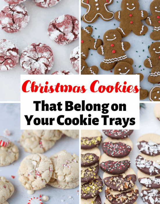 Collage of Christmas Cookies
