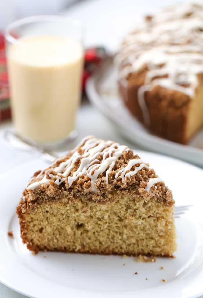 Eggnog Coffee Cake