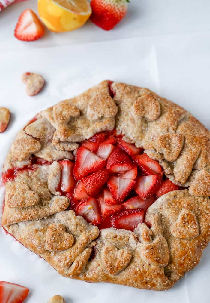 Strawberry Galette