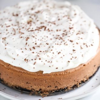Chocolate Stout Cheesecake