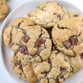 Buckwheat Chocolate Chip Cookies