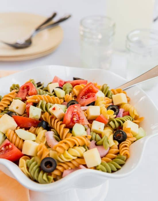 summer pasta salad recipe