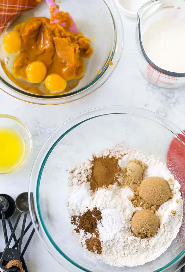Buttermilk Pumpkin Spice Waffles