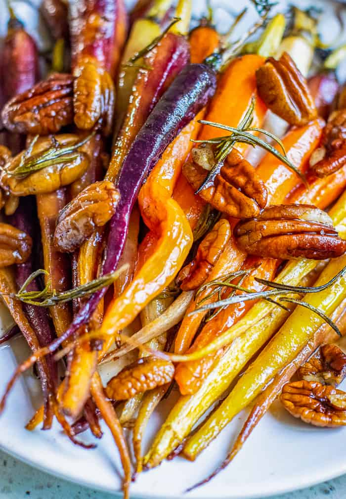 Roasted Carrots with Browned Butter