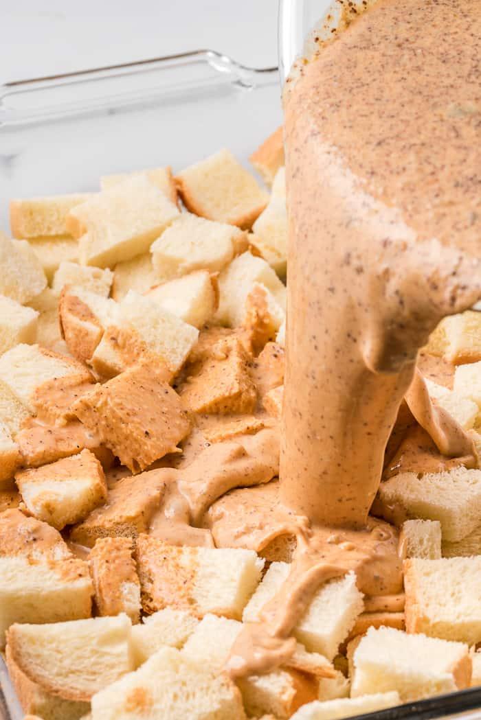 Pumpkin Bread Pudding Recipe