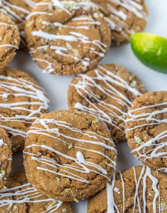 Dark and Stormy Ginger Cookies