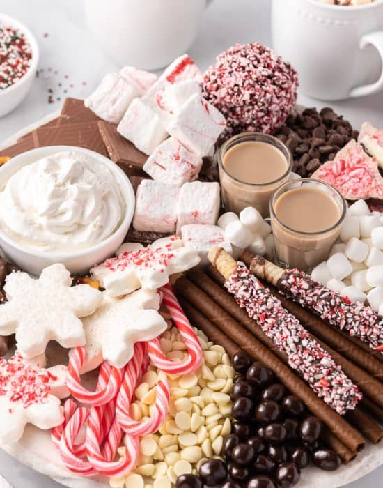 Hot Chocolate Charcuterie Board