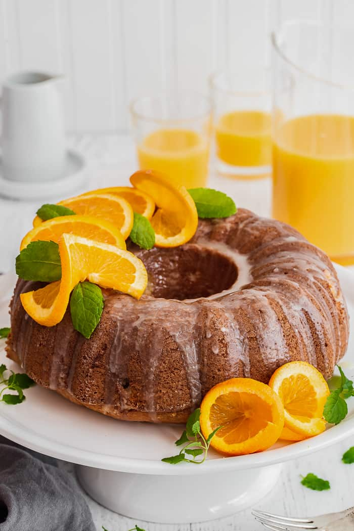 Orange Pound Cake Recipe