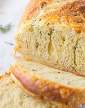 Cheddar Twist Bread