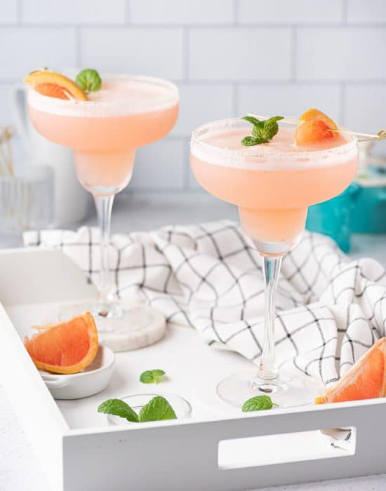 Frozen Grapefruit Margarita