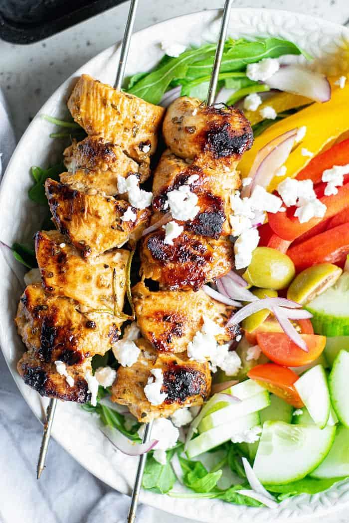 Greek Chicken Souvlaki