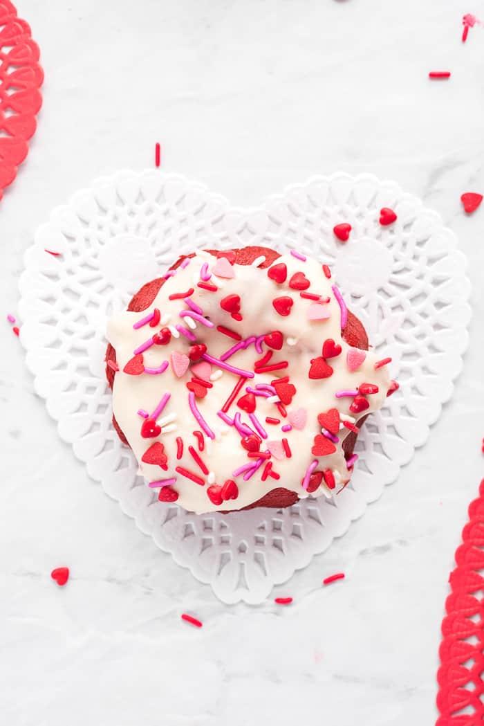 Mini Red Velvet Bundt Cakes