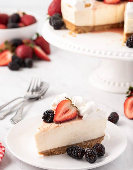 Classic No-Bake Cheesecake Recipe