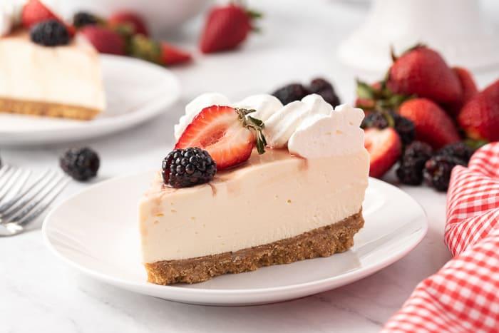 Classic No-Bake Cheesecake Recipe