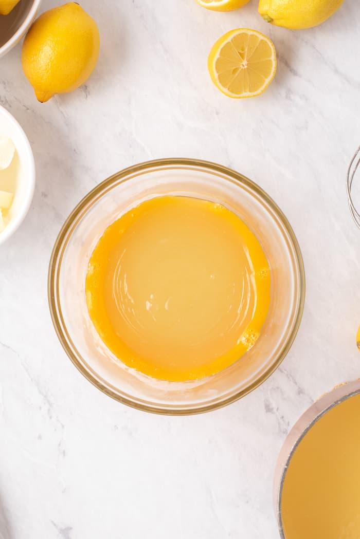 Homemade Lemon Curd Recipe