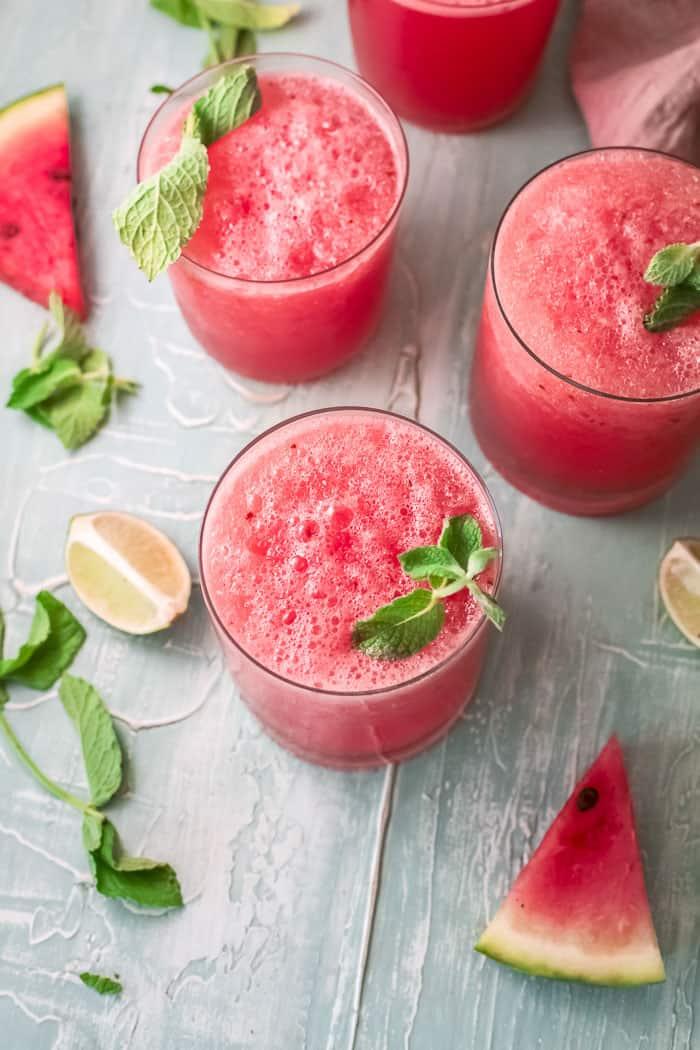 Watermelon Wine Slushies