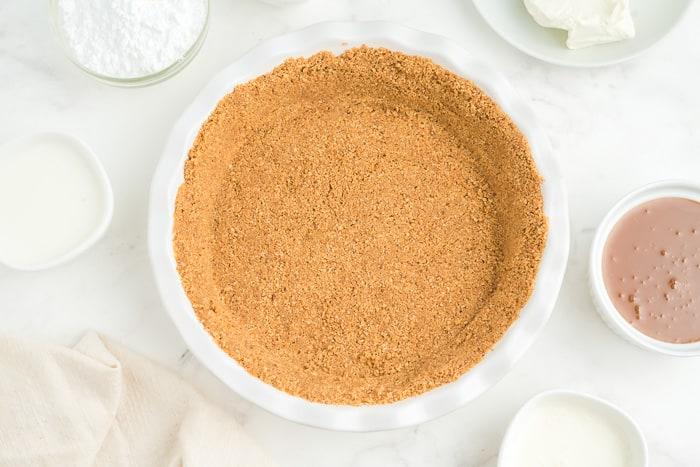 No Bake Caramel Pie