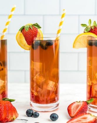 Strawberry Lemonade Iced Tea