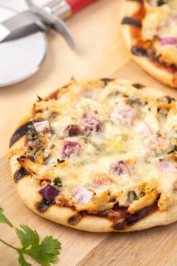 Grilled Chicken BBQ Pizza