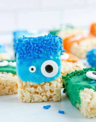 Monster Rice Krispie Treats